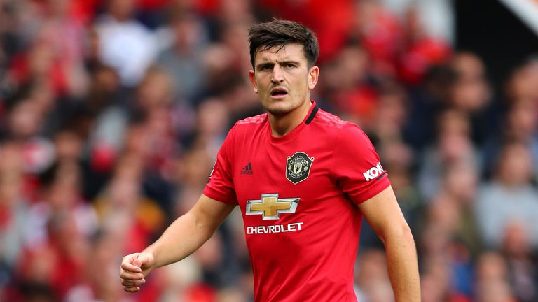 Maguire has played in every Premier League match for United so far this season