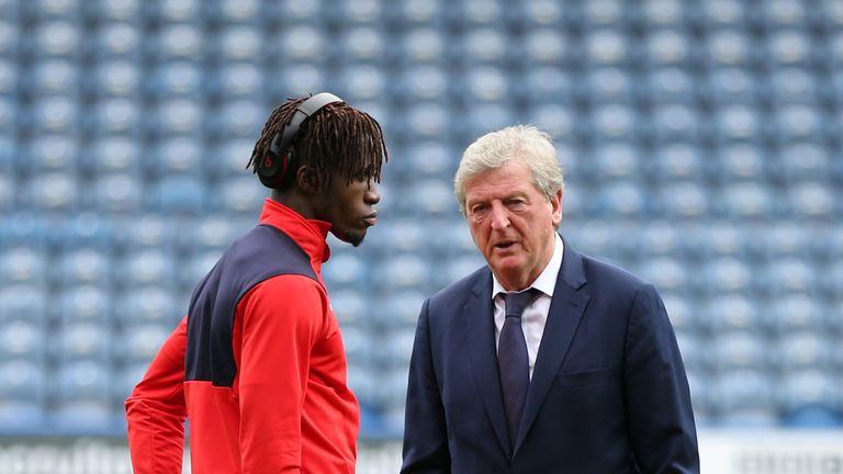 Crystal Palace manager Roy Hodgson was delighted to keep hold of Wilfried Zaha during the transfer window