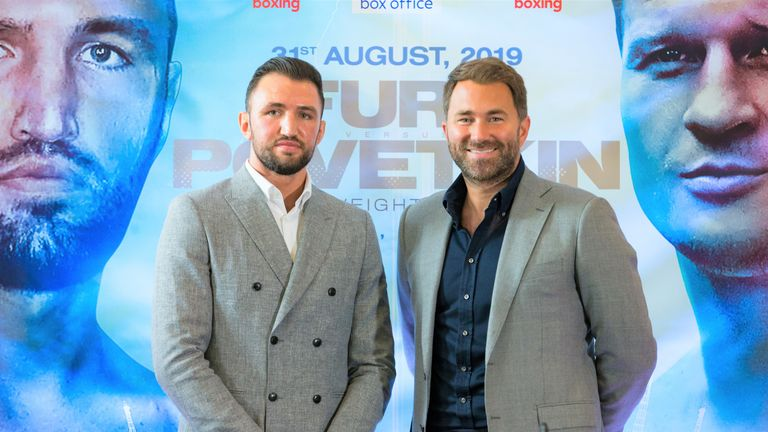 Hughie Fury wants to earn 'the right to challenge anyone'