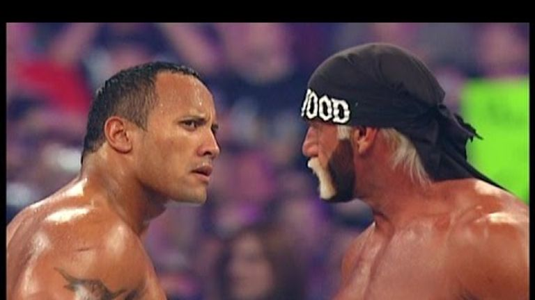 Hulk Hogan and The Rock squared off in a memorable match at WrestleMania X-8 - but should it have been Steve Austin?