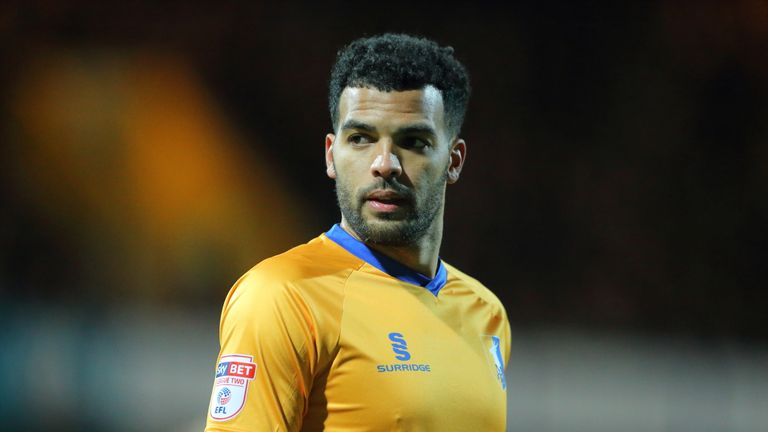 Jacob Mellis was sent off in Mansfield's League Two opener against Newport County on August 3