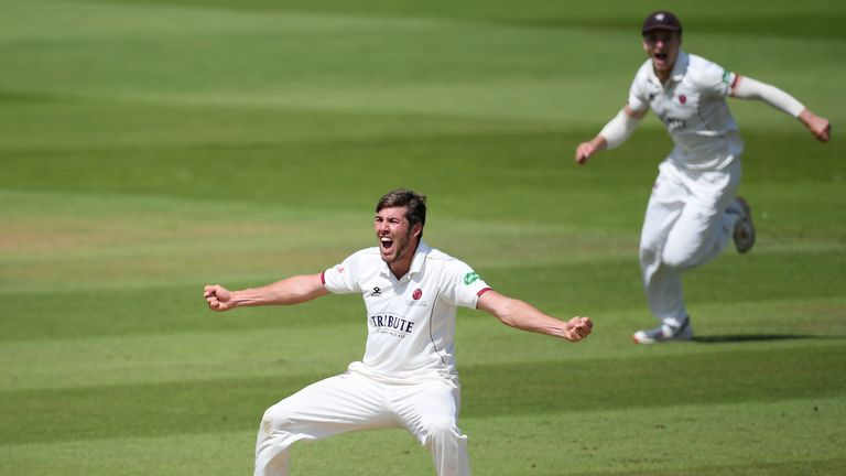 Jamie Overton was loaned out earlier this season by Somerset before forcing his way back into the team