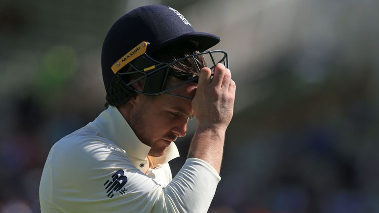 England's Jason Roy in the Ashes