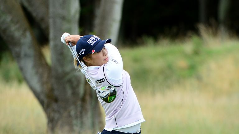 Lee was chasing a second major victory of the year after winning the US Women's Open