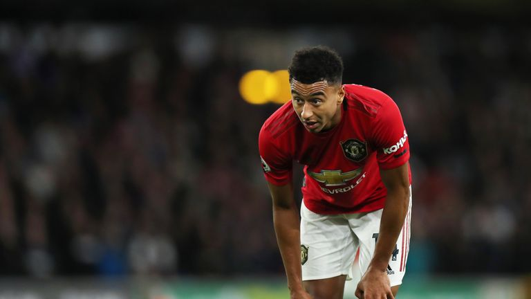 Jesse Lingard during the Premier League match between Wolverhampton Wanderers and Manchester United at Molineux