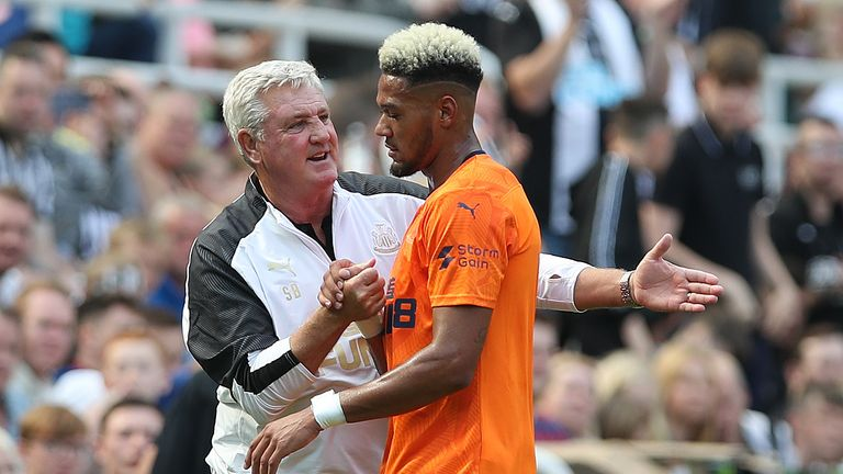 Joelinton has netted twice in pre-season since becoming Newcastle's record signing
