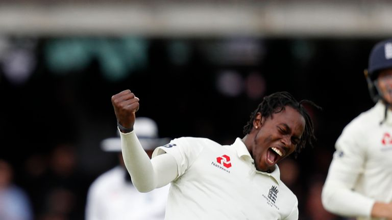 Jofra Archer, England, Ashes Test vs Australia at Lord's