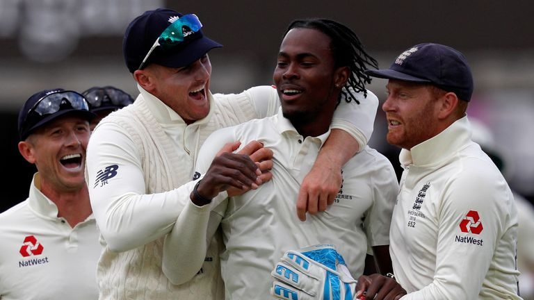 England captain Joe Root hails 'big impact' of Jofra Archer