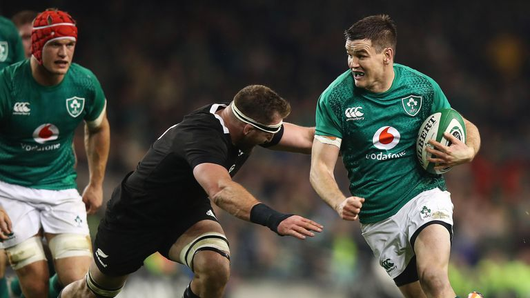 Ireland have won two of their last three games against New Zealand