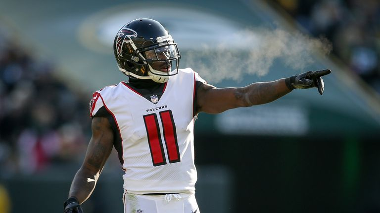buy popular 94694 4af5f Julio Jones to remain an Atalanta Falcon for the next five ...