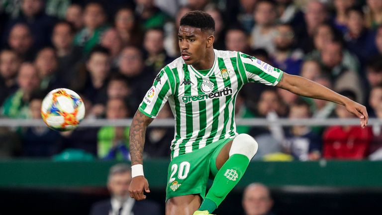 Junior Firpo has joined Barcelona from La Liga rivals Real Betis
