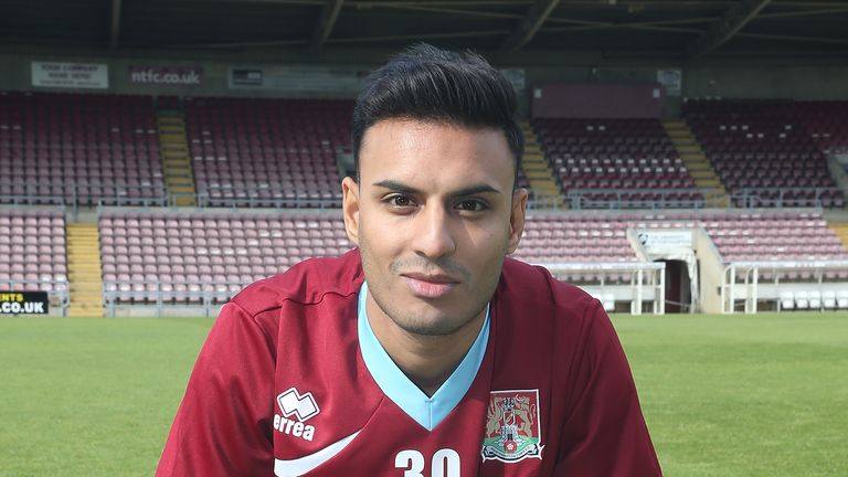 Siddiqi was previously on the books of Northampton Town