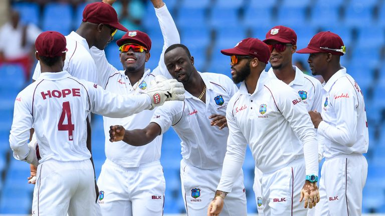 West Indies vs India, first Test, Antigua