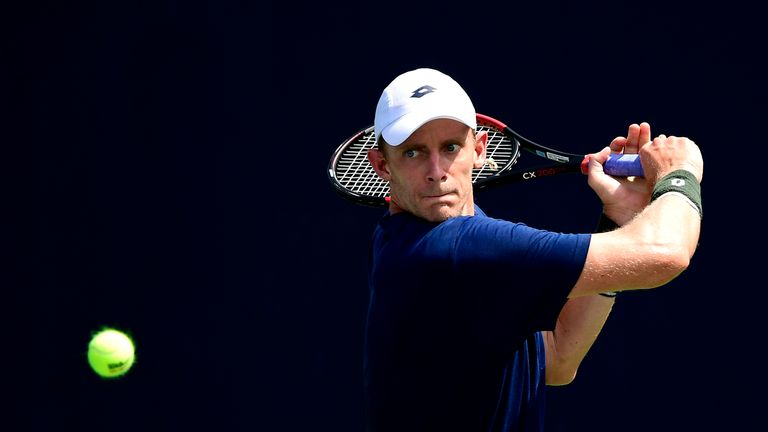 Kevin Anderson has not featured in a tournament since Wimbledon