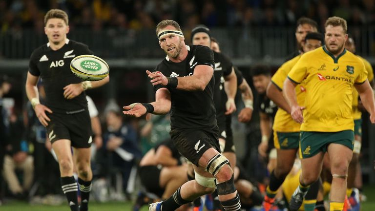 New Zealand's captain led by example during the performance