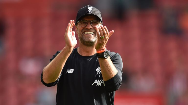 Klopp has guided Liverpool to 15 consecutive wins in the Premier League