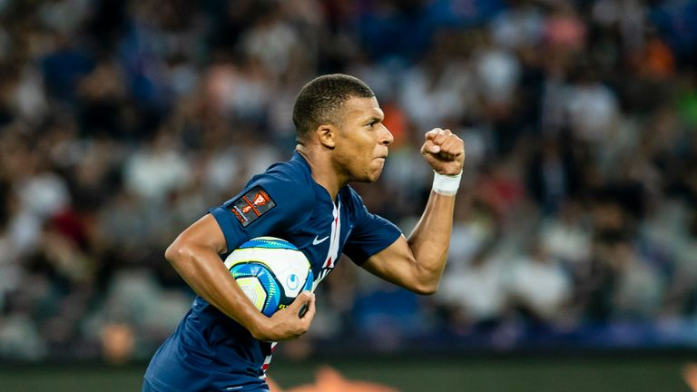 Kylian Mbappe scored PSG's equaliser