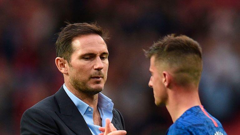 Chelsea head coach Frank Lampard has shown his faith in Mason Mount