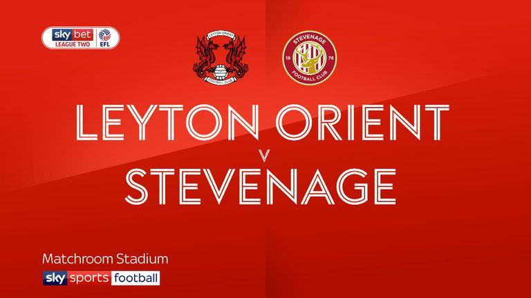 Leyton Orient v Stevenage