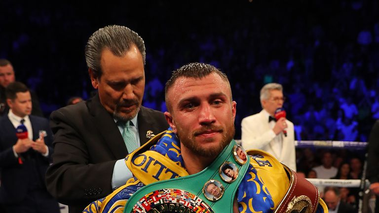 Lomachenko needs one more world title to become undisputed champion