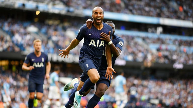 Lucas Moura bagged Spurs' equaliser having only been on the pitch for 19 seconds
