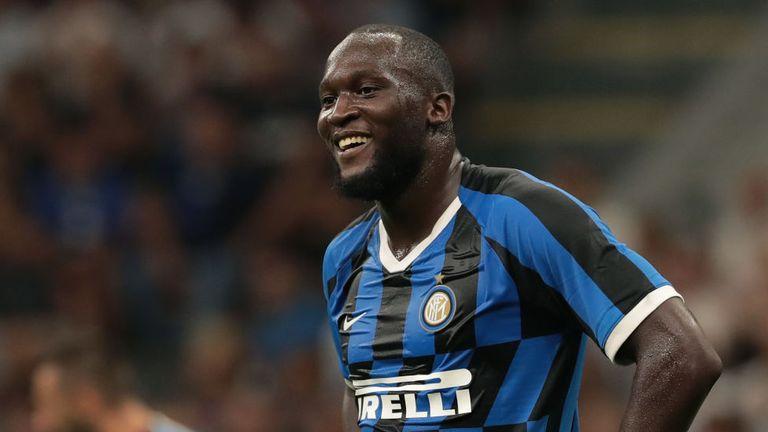 Romelu Lukaku scored on his Inter Milan debut