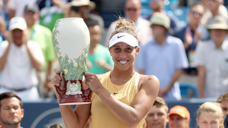 Madison Keys defeated four Grand Slam champions on her way to winning the title in Ohio