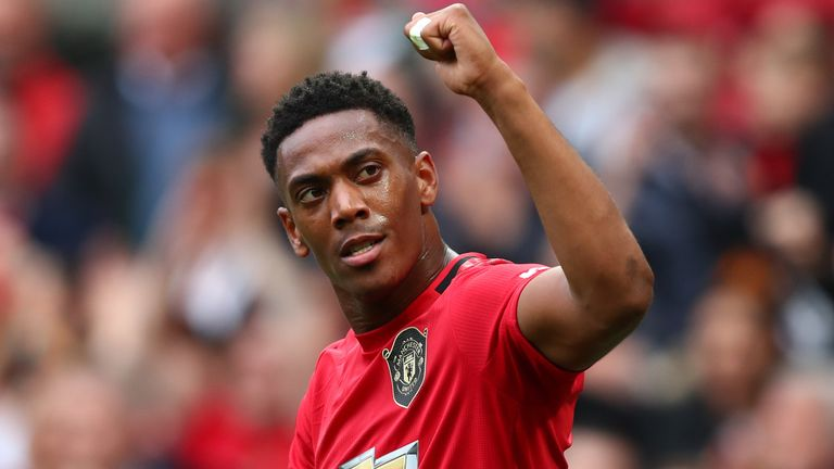 Anthony Martial: Manchester United forward in line for return against Liverpool | Football News |