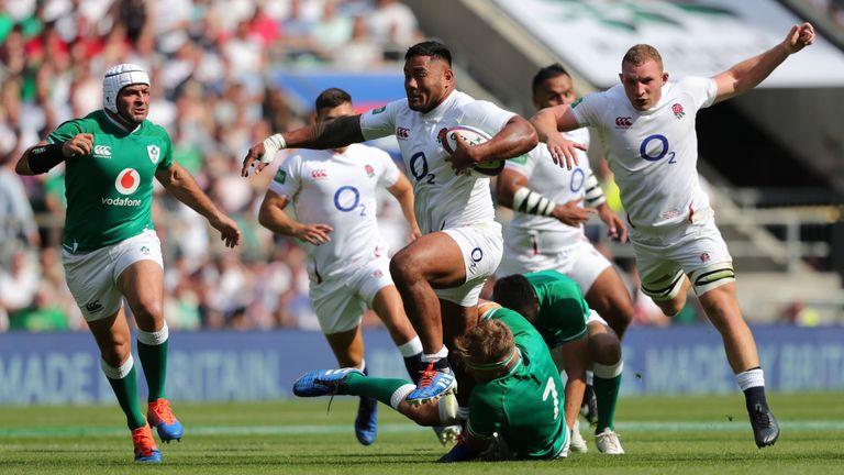 Tuilagi was a constant thorn in the Ireland side at Twickenham