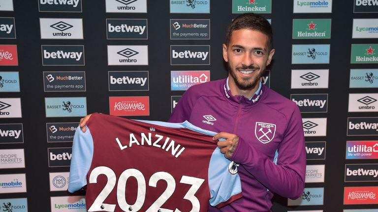 The Argentine's deal comes with the option of a two-year extension. Credit: West Ham United Football Club.