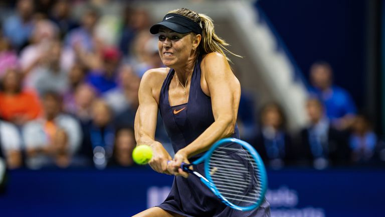 Sharapova was on the wrong end of a 6-1 6-1 loss to Williams