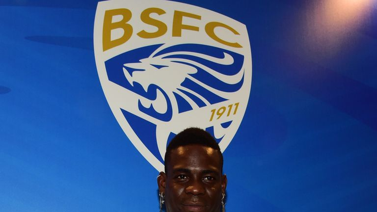 Mario Balotelli has signed for Brescia