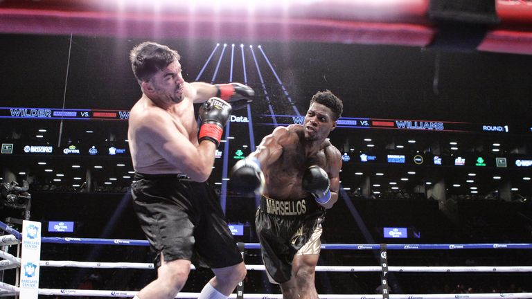 Is Deontay Wilder's younger brother Marsellos fighting for