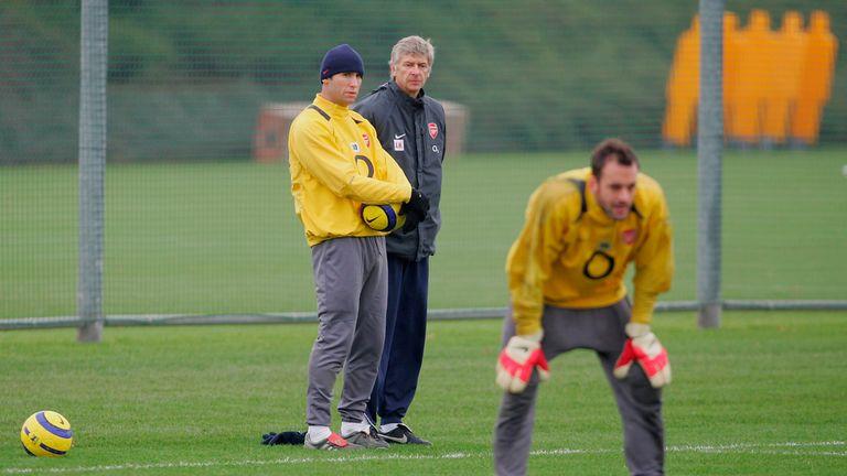 Martin Keown coaching on the run to the 2006 Champions League final
