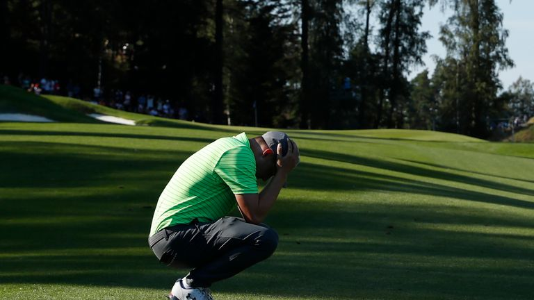 Matt Fitzpatrick birdied four of the last six holes but also bogeyed twice