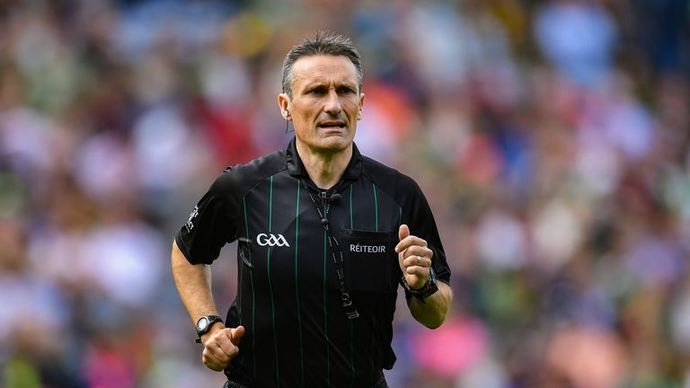 Maurice Deegan was strict on off-the-ball incidents in the second-half