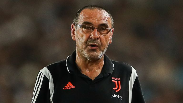 Unwell Sarri to miss opening two Serie A games