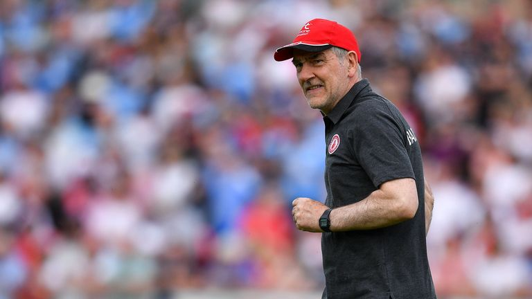 Mickey Harte has had both eyes on the semi-final for a number of weeks
