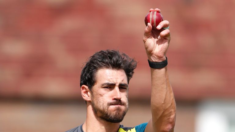 Mitchell Starc could play in the second Test at Lord's