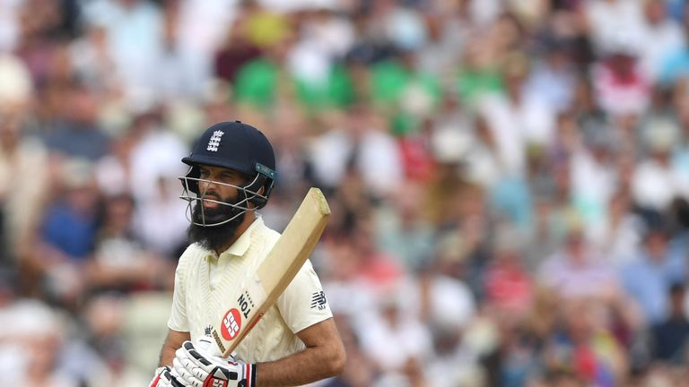Ali was dropped by England after the first Ashes Test
