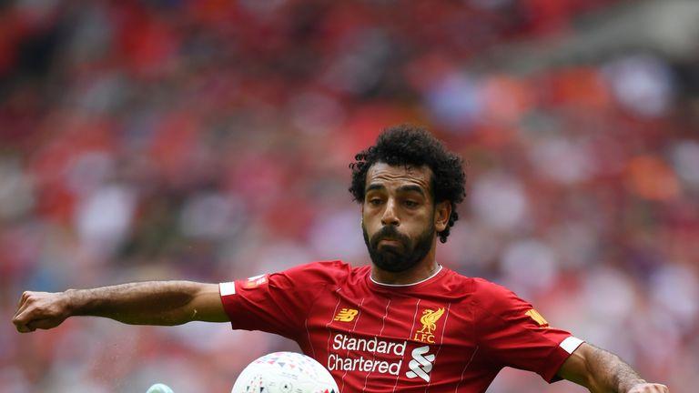 Mohamed Salah impressed against Manchester City on Sunday