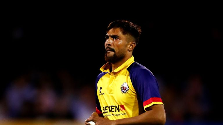 Mohammad Amir bowled a superb penultimate over