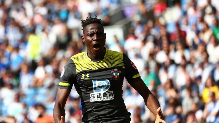 Moussa Djenepo celebrates giving Southampton the lead