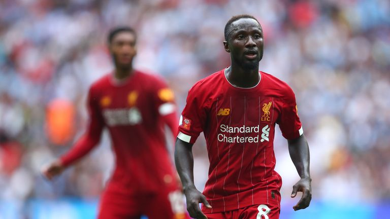 Naby Keita misses Liverpool's Super Cup tie with injury