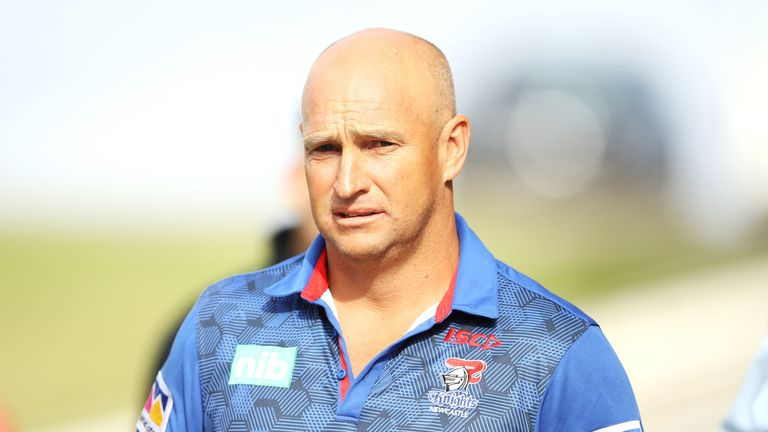 Nathan Brown has announced he will leave the Knights at the end of the season
