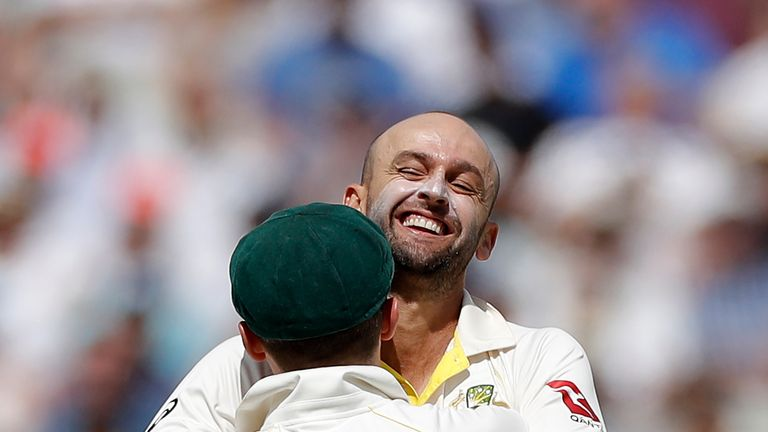 Lyon took 20 wickets during the 2019 Ashes