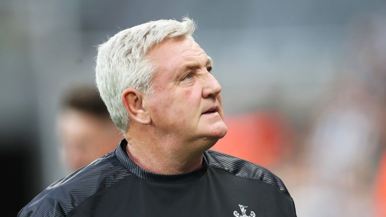 Steve Bruce was the man Newcastle chose to succeed Rafael Benitez