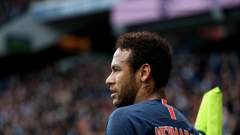 Neymar has been linked with a return to La Liga throughout the summer