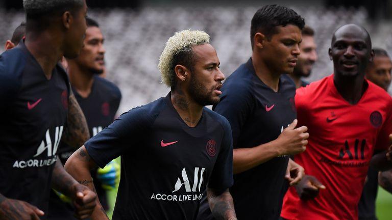 Neymar has until September 2 to resolve his future