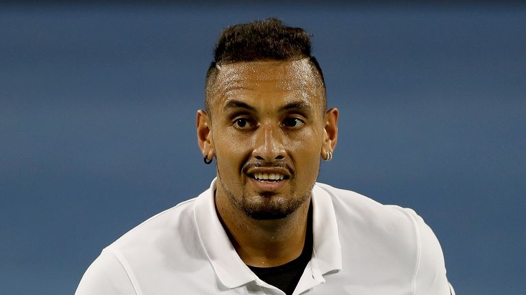 Nick Kyrgios could receive a suspension from the ATP